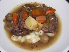 Bison Pot roast