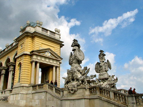 The Gloriette viewing terrace - Schonbrunn Palace by you.