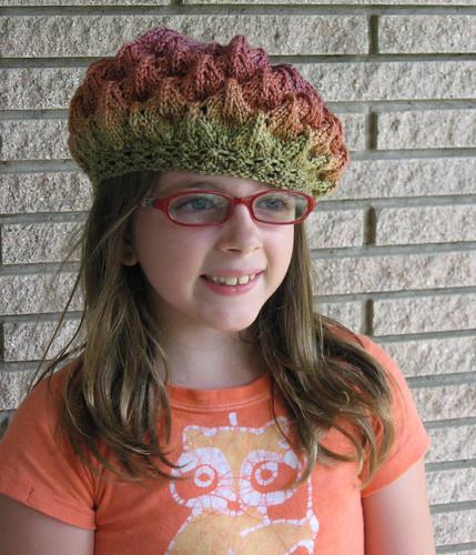 Lumpy Lace Hat Front 2