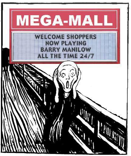 Mass Manilow Mall Maneuvers