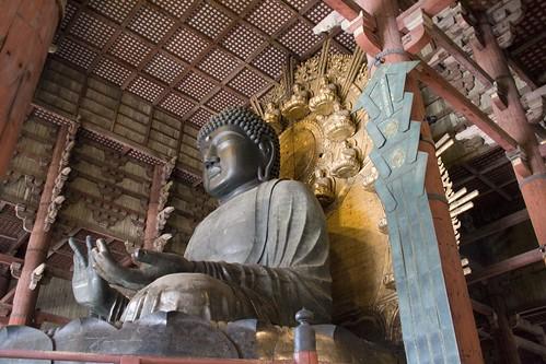 Daibatsu, den store Buddha.
