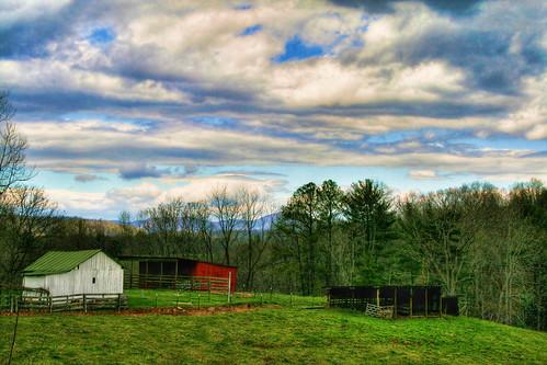 A Blue Ridge Mountain Farm