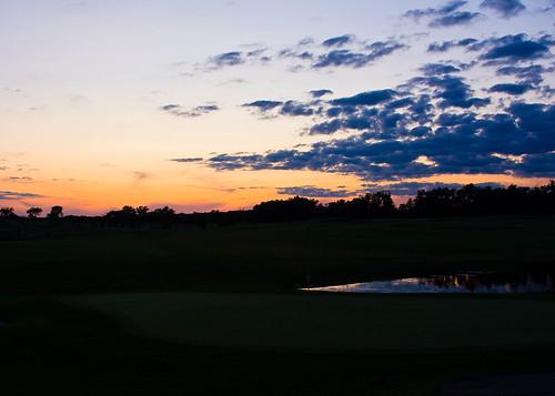 Twilight Golf In July