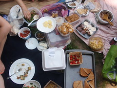 Part of the spread