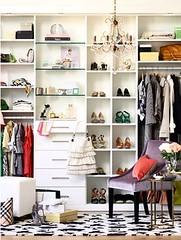 Elegant Closet & Dressing Area