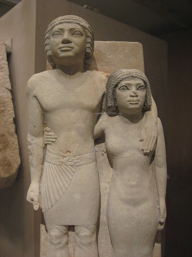 Loved the Met. Lots of handsy Egyptians.