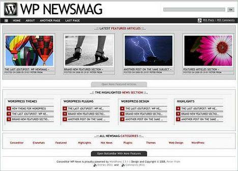 WP Newsmag Free WordPress Theme