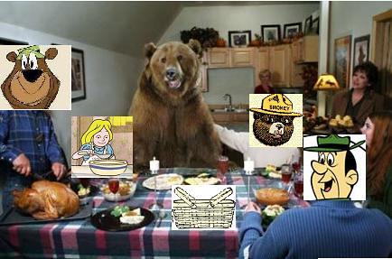 FS Bear Family Dinner