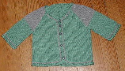 Daisy Baby Sweater