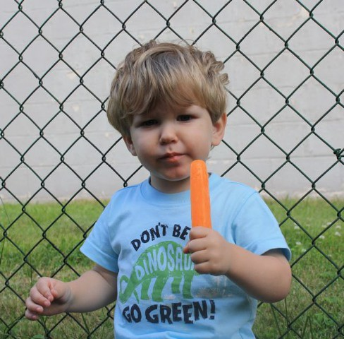 Alex's First Popsicle