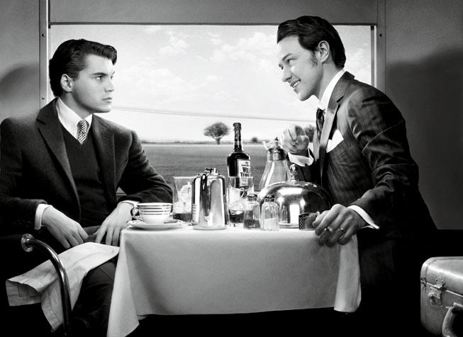 Strangers on a Train, 1951 - Emile Hirsch & Jason McAvoy