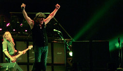 AC DC Concert (Montreal) - Brian Johnson sings...