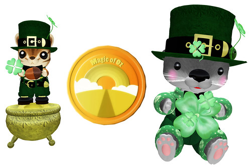 Leprechauns and gold coins