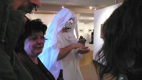 Performance art, MTS Gallery, First Friday.