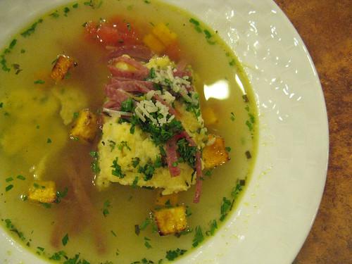 polenta soup