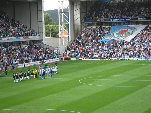 Pre-match pleasantries