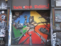 Know Your Rights Mural by Lee