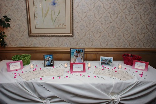 Guest Book Table by you.