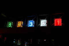 5-4-3-2-1 Neon Countdown at Night 5-12-09 -- I...