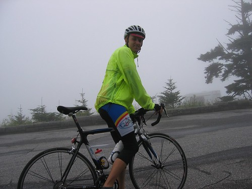 Rob at top of Clingman's Dome