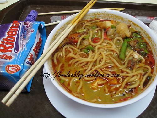 Curry mee and Ribena - Langkawi