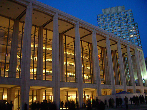Edificio de la Filarmónica de Lincoln Center