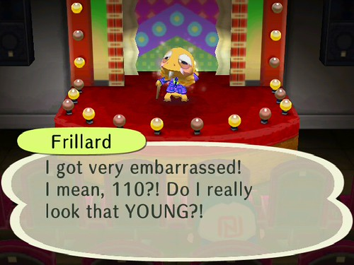 Master Frillard being Bashful!