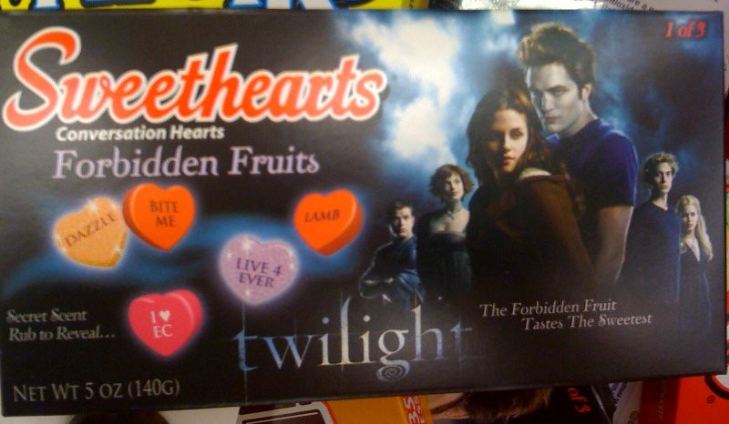 Twilight candy hearts