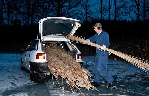 Mats bygger om Gerts Opel till en Lada....Nej en VAZ!!!