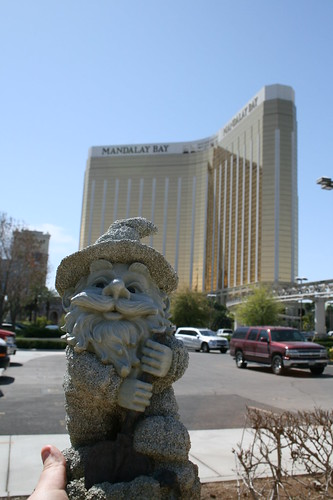 Touring The Lower End Of The Strip