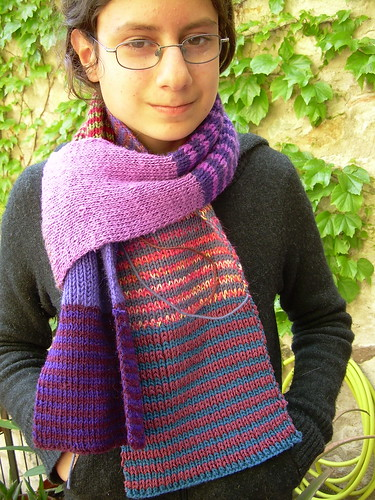 Traveling scarves No-noro