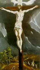 Cristo Crucificado- El Greco.
