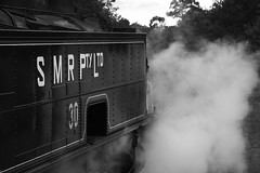 Action is not limited to the mainlines running through The Hunter Valley, with SMR30 getting into the spirit at Richmond Vale Railway, in steam for the first time in nearly six months.