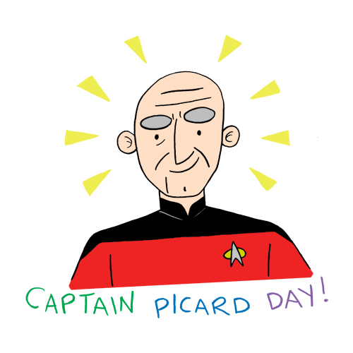 Captain Picard Day!