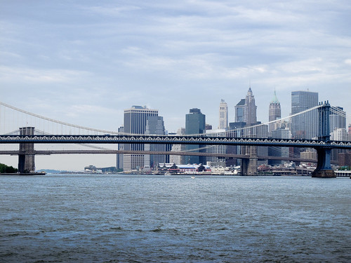 Manhattan and Brooklyn Bridges by you.