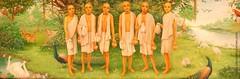 Guru Six Goswamis - ISKCON desire tree 07