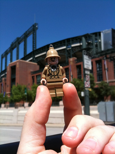 dr jones at coors field by tejasbuckeye