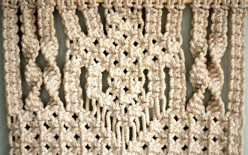 9563 Macrame Hanging Detail