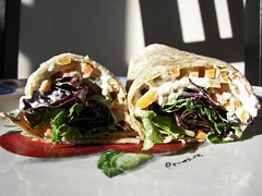 Food project 16 - Baba ganouj wrap