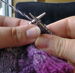 Wrapping short-rows, slip decrease stitch