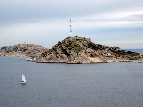 Frioul Islands, seen from the Chateau dIf.