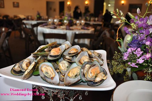 Oysters for the Paella station by R&R Catering
