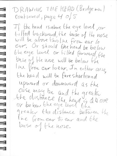 Drawing the head according to Bridgman, part 4 of 5