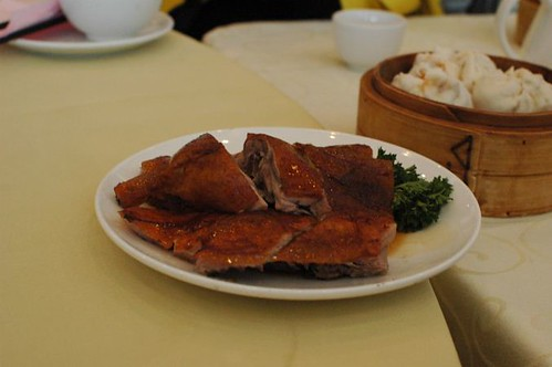 BBQ roast duck