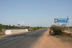 On the road to Battambang