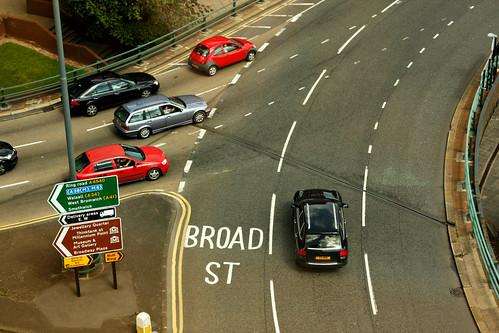 Broad St ahead