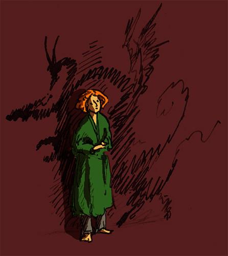 Illustration Friday: Shadows