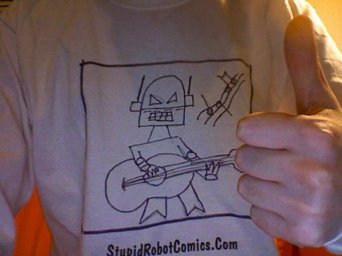 Stupid Robot Shirt!