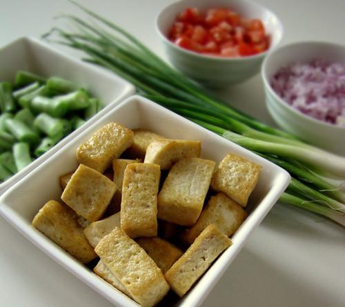 Golden Fried Tofu