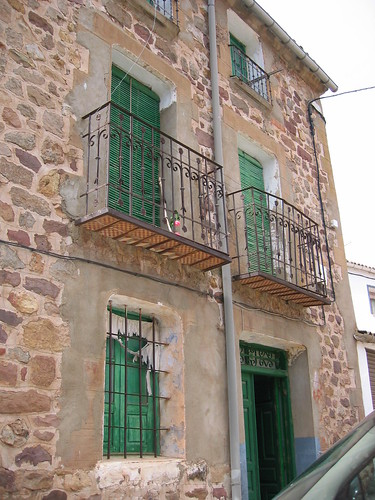 Spanish traditional old house